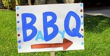 Baby Shower - BBQ / BBQ themed baby shower ideas! Summer is a great time to combine your love for a good barbecue and your impending arrival =)  Who doesn't love a BBQ and a baby, right?  The Invite Lady helps you cook up some great ideas for your Baby-Q!