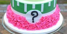 Baby Shower Gender Reveal / He or She? Gender Reveal Party Ideas for your boy or girl surprise baby shower