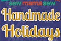 handmade holidays from sew mama sew / tutorials for handmade holidays from sew mama sew