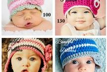 CROCHET KIDS HATS & HEADBANDS