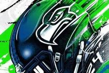 The 12th Man / #GoHawks http://www.maryheston.com/2014/09/the-12th-man.html / by Mary Heston