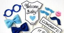 Boy Baby Shower / Oh Joy! It's a Boy! Welcome your Little Man into the world with a party to remember. Get inspired with Baby Shower Ideas for Boys: diy decoration ideas, party favors, games, decorations, cakes, and food. Want custom invites to match? Visit > bit.ly/BabyShowerInvitesBoys