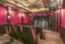 Home Theaters / Movies are the preeminent art form of the 20th century and if they are enjoyed anywhere but the big screen, the next best thing is a proper home theater. These are some of our favorites.