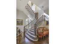 Staircases, Entry Halls and Doors / These spaces provide the first impression and can make or break a showing. These are some of our favorites.