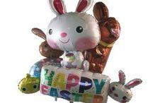 Easter Balloons & Decor