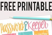 FREE printables group board / Pin only FREE printables!  If you'd like to join this board, just follow me at pinterest.com/KudzuMonster and request to be added in a comment on one of my recent pins.  Check out my site for weekly freebies at www.KudzuMonster.net