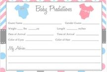 Baby Prediction Cards / Baby prediction cards + gender reveal cards + games. Featuring safari animals (zebra, giraffe, monkeys, lions, elephants), with stripes or chevron, with owls, in gender neutral colors like yellow, nautical themes, cute ideas with polka dots, and more. Looking for Baby Prediction Cards shops? Visit theinvitelady.com