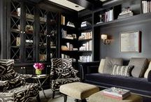 the brown walled office--ideas / by Susan Mernit