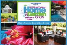 HOME & GARDEN SHOW - MARCH 6-9, 2014 / Toronto's Home & Garden Show held at  The Metro Toronto Convention Centre. 255 Front Street West. North Building. Halls A & B