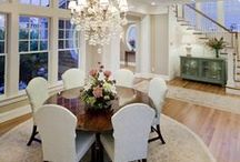 DINNING ROOM / A collection of amazing, inspiring, beautiful inspirational dinning rooms.