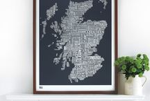 Scottish art / Places