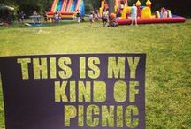 #mykindofpicnic / In honor of new Picnic Menu, let's share some of the best, most creative and outstandingly fun picnic ideas of the year.
