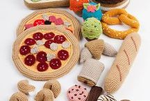 AMIGURUMI / Amigurumi is the Japanese art of knitting or crocheting small, stuffed yarn creatures.