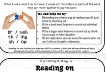reading & writing / by Elizabeth Browne