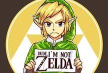 The Legend of Zelda / by Kalena Swan