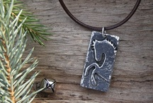 Little Horse Love Collection / A very cool line of pewter jewelry handcrafted in the USA, exclusively for Wild Horsefeathers.
