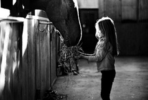 One Little Girl.... / we bet you know one little girl who'd rather clean a stall than her own room... / by Wild Horsefeathers