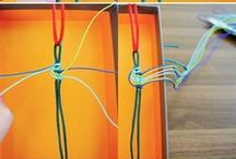 Macramé / Anything dealing with macramé or silk cord or leather cord is archived here.