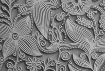 Polymer clay textures / How to make textures out of polymer clay.