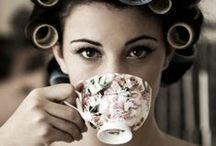Savouring a Sip  / Enjoying the comfort of tea.