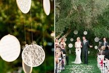 Crafty wedding ideas