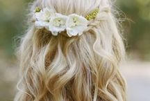 || Wedding Hair + Beauty || / Not Your Average Up Do - Wedding Hair for your Wedding Day, Boho Brides and beyond