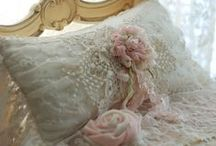 Decadently Romantic / All things dripping with lace, ruffles, flowers and stuff that makes me swoon.
