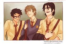 The Marauders / I Solemnly Swear That I Am Up To No Good...Mischief Managed. / by Kalena Swan