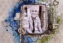 2 Crafty chipboard resident guest designer projects