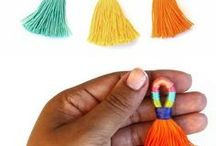 HANDMADE JEWELLERY / Handmade jewellery made with thread.
