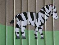 Zoo Animal Crafts For Preschoolers