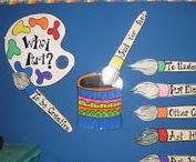 Art Classroom Management / Classroom management and organization in the art room
