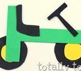 Transportation Crafts For Preschoolers