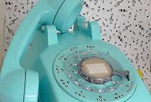 retro love / princess phones in fruity shades, brownie cameras, deli scales... if it's a great old design, i love it