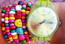 Swatch Wristrave / A collection of ideas on how to combine your swatch with a bracelet. / by Swatch