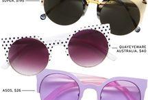 S U N N I E S ♡ / Fabulous sunglasses!!❤ / by Samantha St. Clair