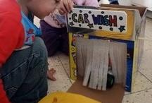 Cardboard Fun / by Boys Germs