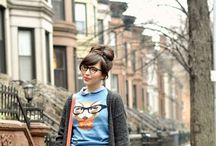 NERD♡CHIC / Get your nerd on....glasses.  / by Samantha St. Clair