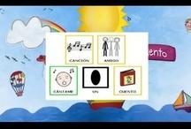 """PICTOGRAMAS / Las canciones del CD """"Cántame un cuento"""" con pictogramas de ARASAAC / by Nat Cántame Un Cuento"""