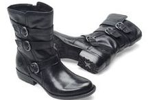 MOTO CHIC / motorcycle-inspired boots that mix well with metro basics. / by Shoeline.com ♥