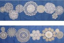 Vintage Pillows and Accessories / Vintage items - especially using linen and lace
