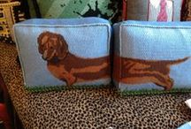 Dachshund Pillows and Quilts / by Nancy Shows