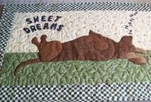 Dachshund Pillows & Quilts / by Nancy Shows