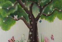 Tinkerbell Mural