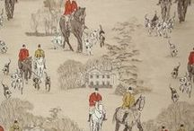 Equestrian / The equestrian style is popular to day in both apparel and home decor.