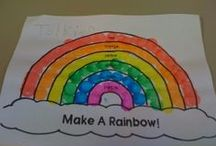 Rainbow Theme / by Kasey Herrington