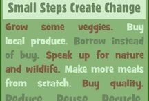 Sustainable Earth! / Economical, recyclable, humanity, pollution, common sense, everyday living.  / by Shonnie Tabers