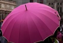 magenta / Magenta always catches my eye. i've found pictures to to pin where this fuschia/red hue just pops from the background. don't you love that umbrella? the catwalk dresses?