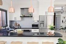 Kitchen Decor and Style Ideas / Design and decor ideas for the kitchen and dining areas. Kitchen Decor. Kitchen Ideas. Kitchen Style Boards.