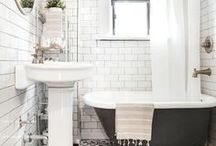 Bathroom Decor and Style Ideas / Design and decor ideas for the bathroom. Bathroom Decor. Bathroom Ideas. Bathroom Style Boards. Bathroom Organization.